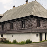 Folk house in Čičmany (photo by Peter Fratrič)