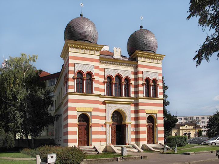 Synagogue, Malacky (photo by Peter Fratrič)