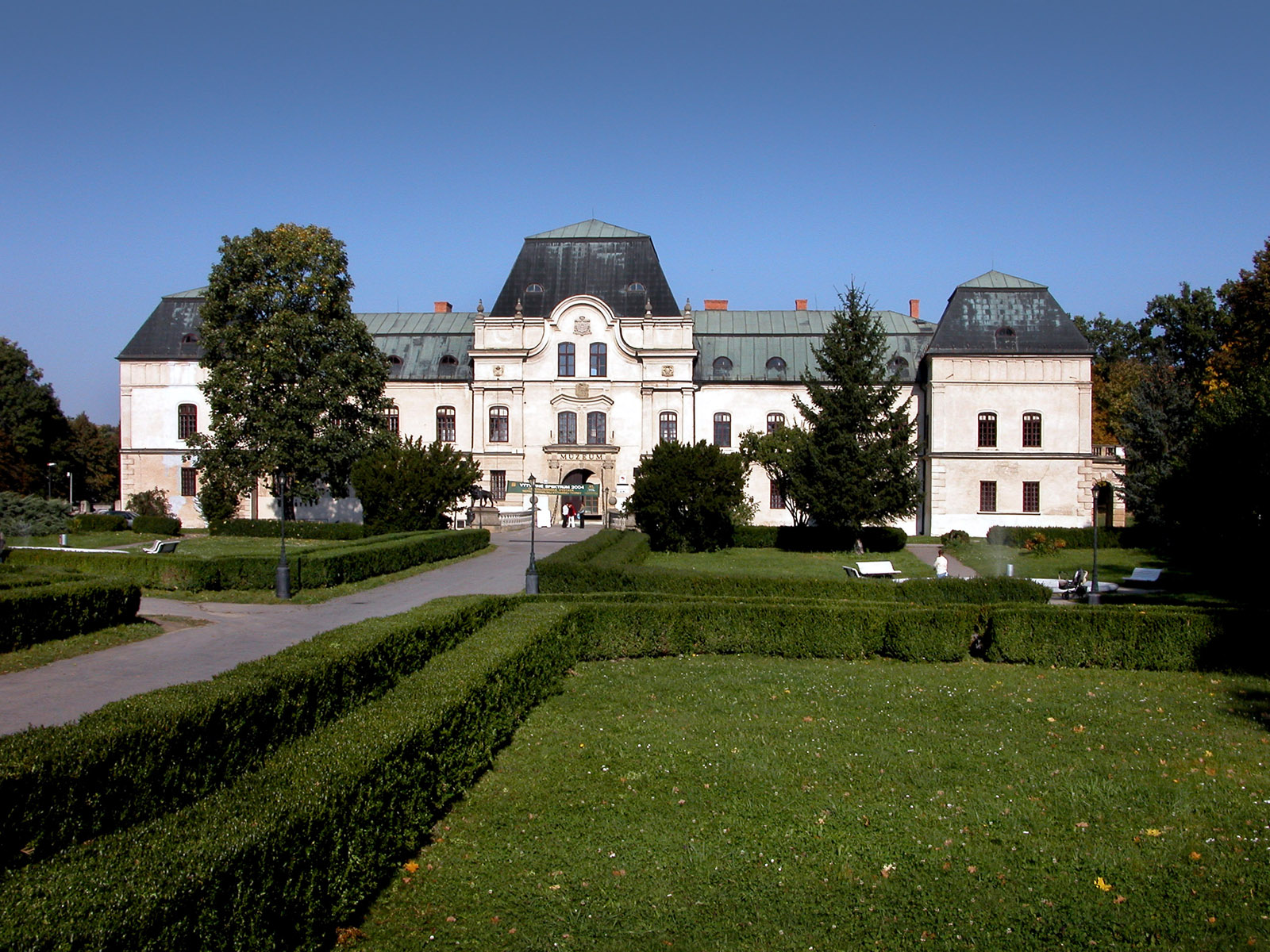 Manor-house in Humenné (Monuments Board of the SR Archive, photo by Peter Fratrič)