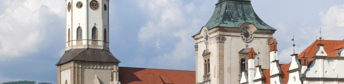 St. Jacob's Church and town hall, Levoča (Monuments Board of the SR Archives, photo by Peter Fratrič)