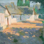 Konštantín Kövári-Kačmarik: Village courtyard, around 1910 (source by The Slovak National Gallery Collections, http://www.webumenia.sk/dielo/SVK:SNG.O_5179)