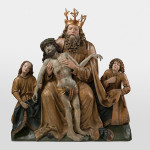 Master Pavol of Levoča: Holy Trinity from Poloma (Trone of grace), around 1520 (source by The Slovak National Gallery Collections, http://www.webumenia.sk/dielo/SVK:SNG.P_2262)