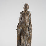 Ján Koniarek: Figure of a woman with a Phrygian cap, around 1920 (source by Robert Kocan, The Slovak National Gallery Collections, http://www.webumenia.sk/dielo/SVK:SNG.P_684)