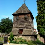 Wooden belfry at the Church of St. George, Svaty Jur (photo by Peter Fratrič)