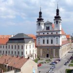 University building, St. John the Baptist Church in Trnava (Monuments Board of the SR Archives, photo by Peter Fratrič)