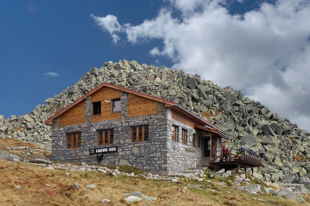 Stone cottage under Chopok, Low Tatra (photo by Bohumil Šálek)