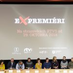 "Presentation of the documentary cycle ""Expremiers"" (photo by Robert Tappert)"