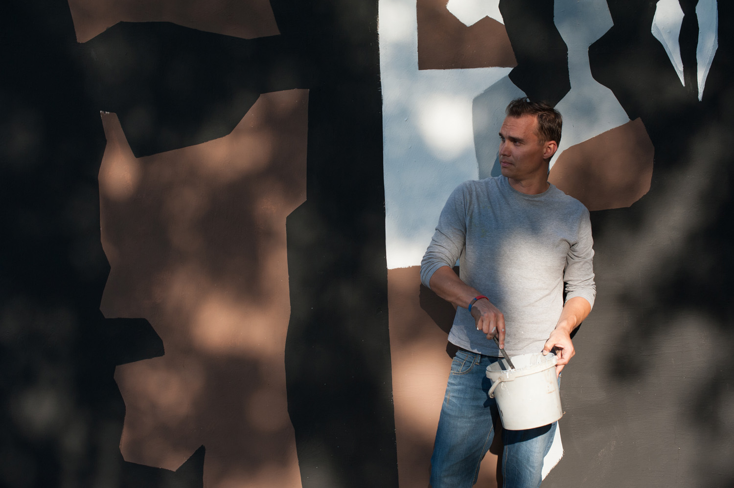 Workshop and festival of contemporary art in Trebišov (photo by Robert Tappert)
