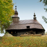 Greek Catholic wooden Church of St. Michael the Archangel at Inovce (photo by Peter Fratrič)
