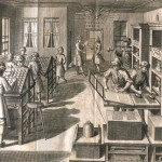 Bookprinting manufactory from v r. 1740 (photo by University Library in Bratislava)