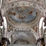 Church and Monastery of St. Elizabeth - fresco painting, Bratislava (photo by Peter Fratrič)
