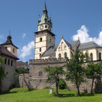 Kremnica, town castle and Church of St. Catherine (photo by Peter Fratrič)