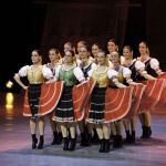 Lúčnica, Traditional dance Čirčianka (photo by Peter Brenkus)