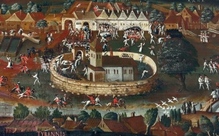 Medieval painting (photo by Peter Fratrič)