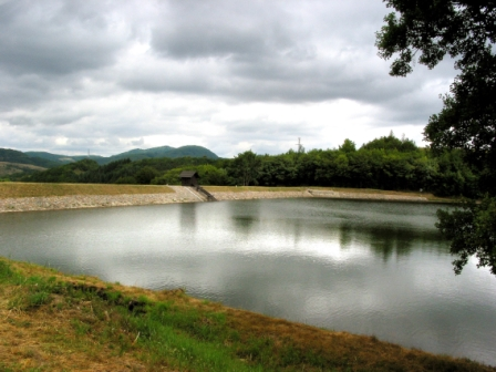 Water reservoir - tajch (photo by Peter Fratrič)