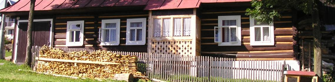 Folk house in Ždiar (Monuments Board of the SR Archives, photo by Prešov Regional Centre)