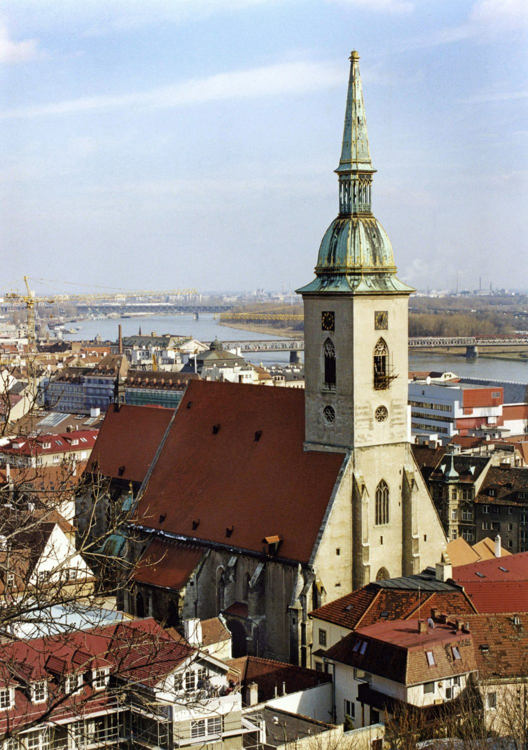 St. Martin's Cathedral, Bratislava (photo by Peter Fratrič)