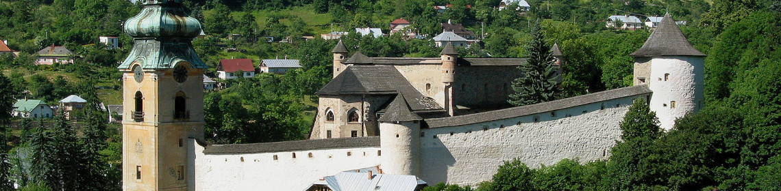 Banská Štiavnica Old Castle (Monuments Board of the SR Archive, photo by Peter Fratrič)