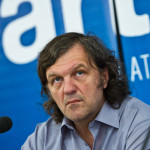 Golden Camera award at the AFF in 2011 took over the director Emir Kusturica (photo by ART FILM FEST)
