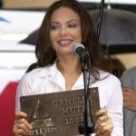 Actress Ornella Muti (2002) was awarded Actor's Mission (photo by ART FILM FEST)