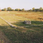 Leányvár, Roman military camp with well, Iža (Monuments Board of the SR Archive, photo by R. Daňo)