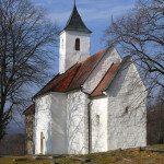 Pre-Romanesque St. George´s church , Kostoľany pod Tríbečom (Monuments Board of the SR Archive, photo by Peter Fratrič)
