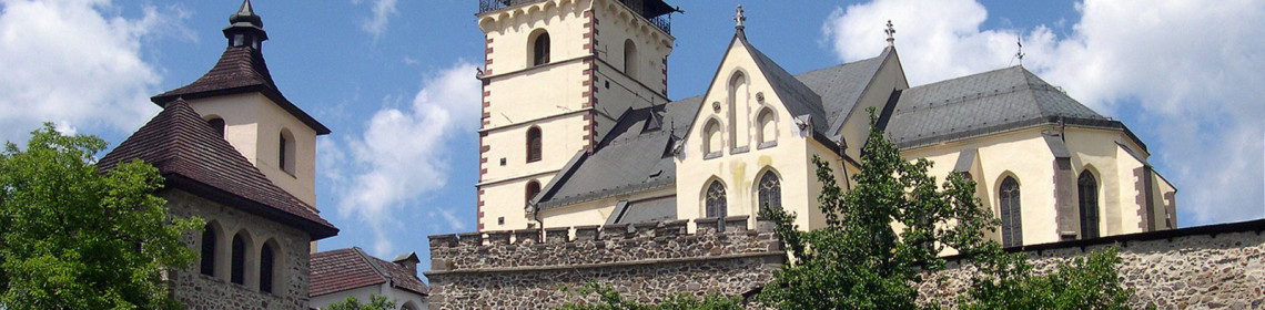 Kremnica Town Castle and St Catherine's Church, Kremnica (photo by Peter Fratrič)