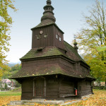Greek Catholic Wooden Church of St Michael the Archangel at Ruský Potok (photo by Peter Fratrič)