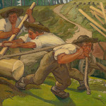 Jozef Hanula: Fallers, 1938 (source by Slovak National Gallery, http://www.webumenia.sk/dielo/SVK:SNG.O_2290)