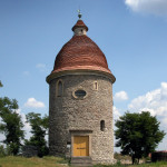 Romanic roundhouse - St. George's church, Skalica (Monuments Board of the SR Archive, photo by Peter Fratrič)