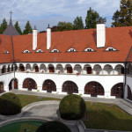 Chateau Topolčianky Courtyard (Monuments Board of the SR, photo by Peter Fratrič)