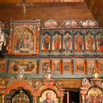 Greek Catholic Wooden Church of St Michael the Archangel at Uličské Krivé, iconostasis (photo by Peter Fratrič)