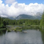 New Štrbské pleso (tarn), High Tatras (photo by Ivan Ciglan)