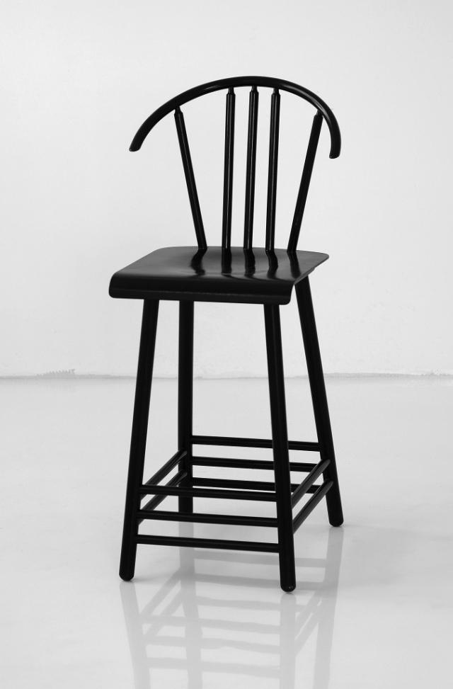 Chair, Ondrej Čverha design, produced by Tatranábytkáreň Pravenec, the 80s (photo by Slovak Design Centre Archive)