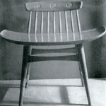 Chair, design by Viktor Holešťák-Holubár, 1959 (photo by Slovak Design Centre Archive)