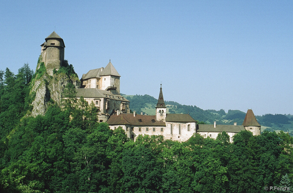 Orava Castle (photo by Peter Fenďa)