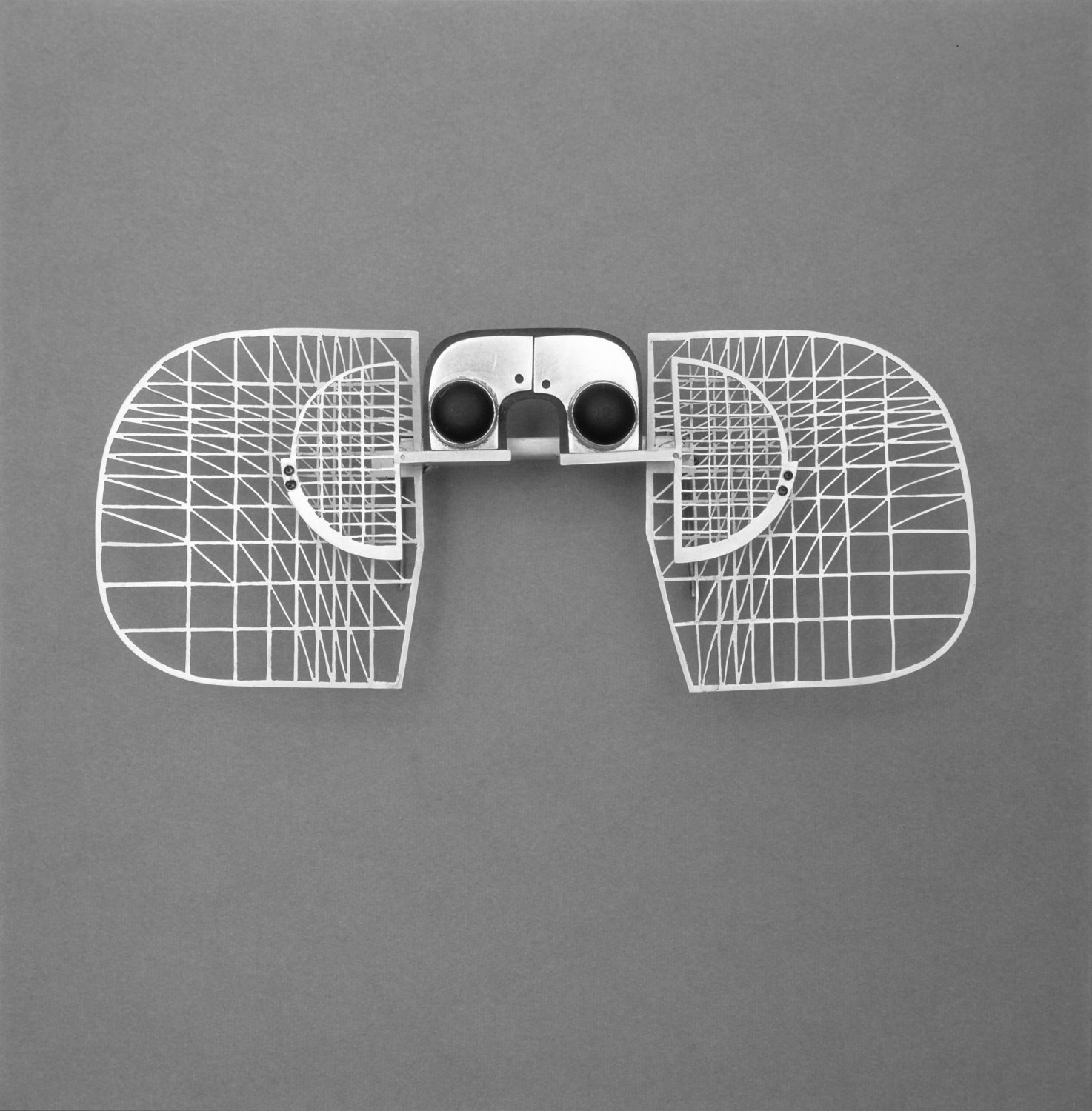 Anton Cepka, Brooch, silver, slate, 1975 (photo by Anton Cepka Archive)