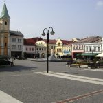 St. Mary's Square, Žilina (photo by Peter Straka)