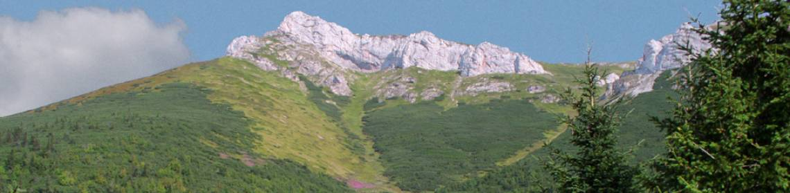 Rakúska poľana and Košiare, Belianske Tatras (photo by Peter Fenďa)