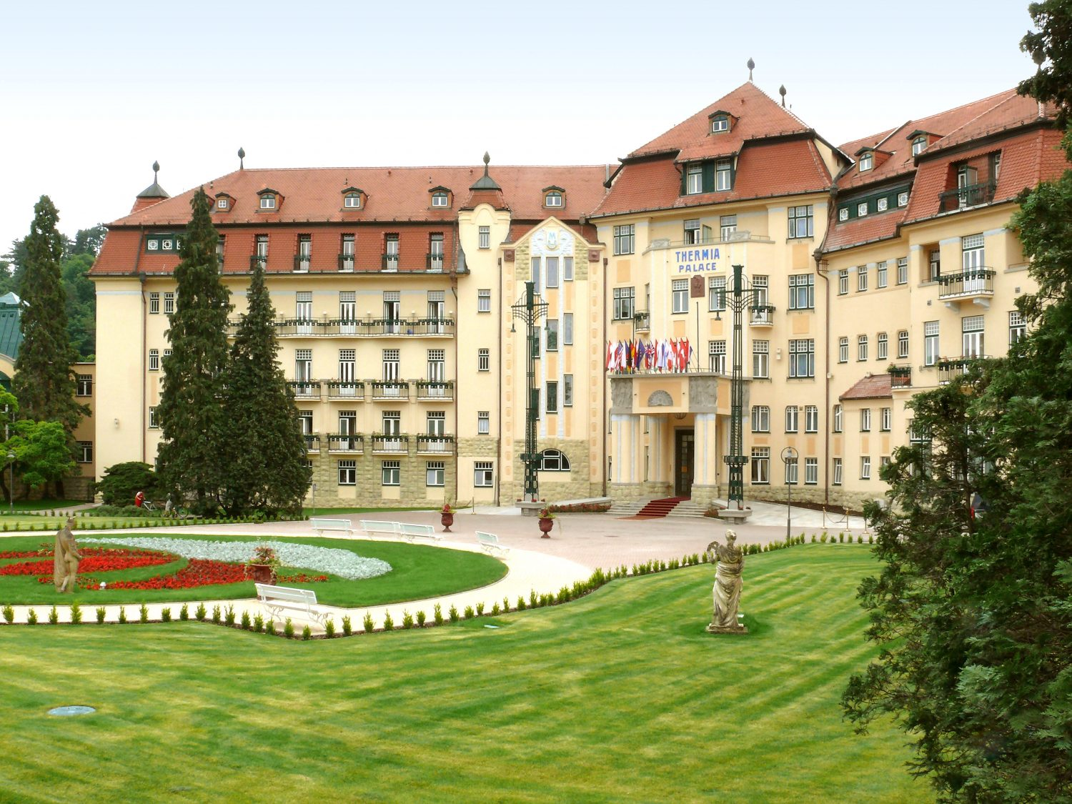Spa Resort Thermia Palace, Piešťany (photo by Peter Fratrič)