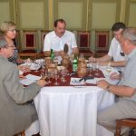 In professional tasting evaluators talk about wine (photo by Dušan Hažír)