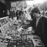 Book Sale, Bratislava, SNP Square, 1995 (photo by Peter Procházka)