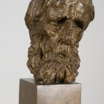 Jozef Kostka: Old Man, 1942 (source by Slovak National Gallery, http://www.webumenia.sk/dielo/SVK:SNG.P_98)