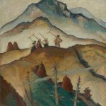 Martin Benka: On the field, 1934 (source by Slovak National Gallery, http://www.webumenia.sk/dielo/SVK:SNG.O_676)