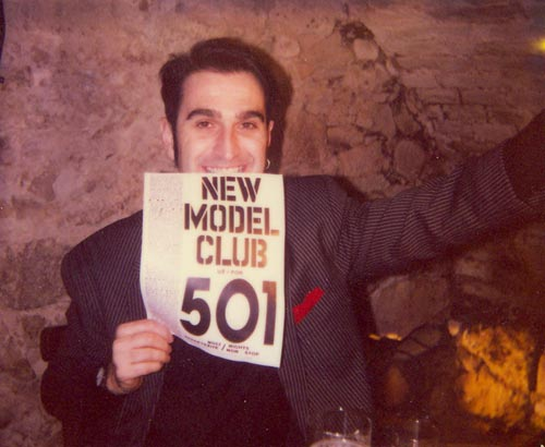 New Model Club, a visual example of past (source by archive of the organisation)