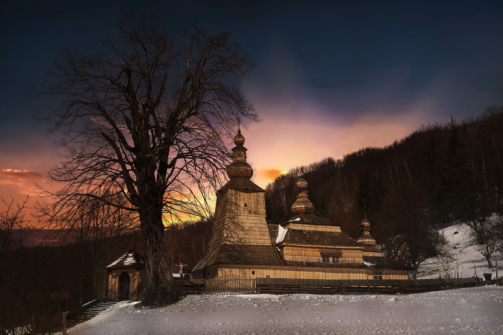 Greek Catholic Wooden Church of the Holy Mother of God the Protector in Miroľa (photo by Jano Štovka, MQEP)