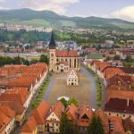 Square in Bardejov by air (photo by Jano Štovka, MQEP)