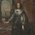 Central European painter: Františka Khuenová-Pálffyová, 1664, copy, oil painting on canvas (source: Slovak national Museum - Bojnice Castle)