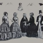 Graphic fashion sheet, colored steel engraving (source: Bratislava City Gallery)