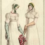 Graphic fashion sheet Costume Parisien 1809 (27) (source: Slovak National Museum - Library)